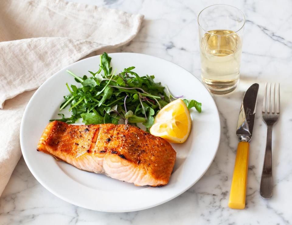 Scottish salmon has a perfect moist texture and a delicious, almost buttery, flavor that makes it stand out.
